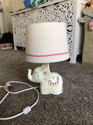 Elephant lamp for Sale in Placentia, CA