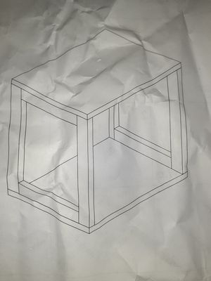 Cube end table for Sale in North East, PA