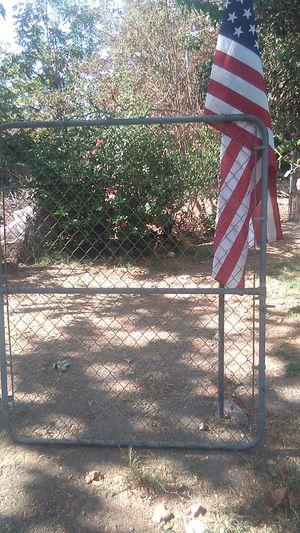 5x6 ft. Chain link gate for Sale in San Bernardino, CA