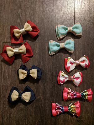 Piggy-Tail Clip Hairbow Sets for Sale in Winter Haven, FL