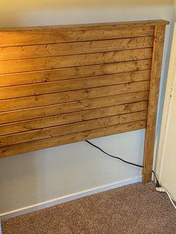 Wooden Headboard for Sale in San Leandro,  CA