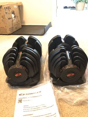 New 90 pound bowflex dumbbells for Sale in North Las Vegas, NV