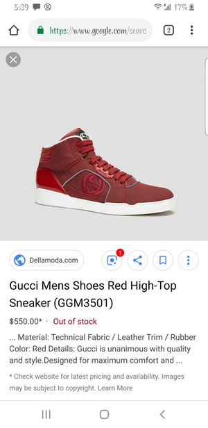 Mens Gucci Shoes size 10.5 for Sale in Sandy, UT