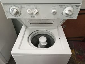 Kenmore stackable washer and dryer for sale w Warranty for Sale in Pompano Beach, FL