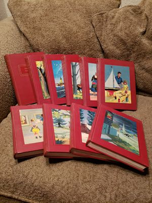 VTG The Bookshelf For Boys and Girls - 1958 Complete 9 Volume Set + Guide - HC/VGC for Sale in Modesto, CA