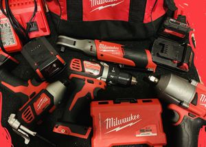 Brand new!!! 2019 Milwaukee!! Power Tool Set 700 obo!! Trades for chevy stuff and music!! for Sale in Glassboro, NJ