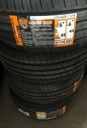 Brand new tires 215/45/17 set of 4 for Sale in North Lauderdale, FL