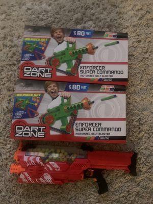 Dart zone and nerf gun for Sale in Mesa, AZ