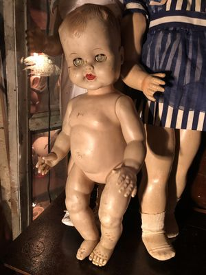 Antique Large Vintage Baby Doll Toy for Sale in Dania Beach, FL