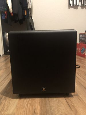 Boston Acoustics home subwoofer 🔊 for Sale in Tacoma, WA