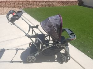 Sit and stand double stroller Baby Trend for Sale in North Las Vegas, NV