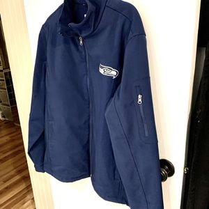 Men's Like New Seahawk's Jacket Large - Worn Once - New $89 for Sale in Auburn, WA