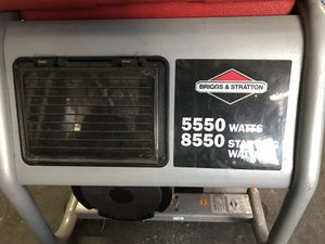 Generator 5550 watts works PERFECT for Sale in San Francisco, CA