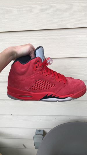 Jordan 5 Red Suede for Sale in Washington, DC