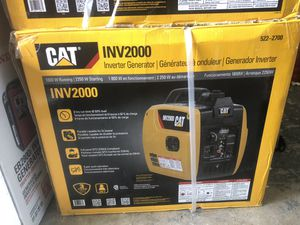 Brand New in Box CAT INV2000 Gas Powered Generator for Sale in Hialeah, FL