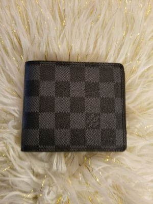 Black checkerboard wallet for Sale in Norcross, GA