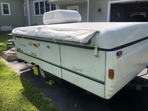 1999 Coleman Santa Fe Pop Up Camper for Sale in Rose Valley, PA