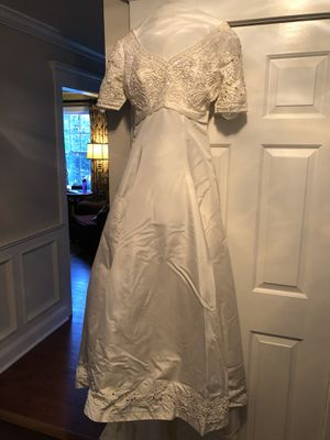 Wedding Dress Worn Once. Bonny size 14. In box 21 years. Like new for Sale in Florham Park, NJ