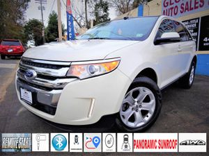 2013 Ford Edge SEL * awd * inspected * free warranty * black and white for Sale in Woodlawn, MD