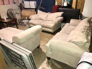 Couch set need gone ! OBO for Sale in Dallas, TX