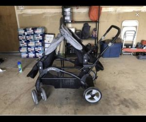 Baby trend double stroller for Sale in Fresno, CA