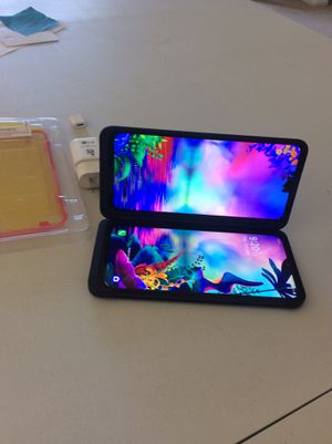 LG G8X like very good for sprint double screen charger screen protector for Sale in Irvine, CA