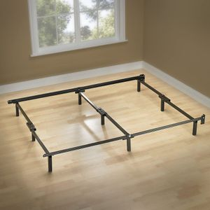 NEW Zinus Michelle Compack 9-Leg Support Bed Frame, for Box Spring and Mattress Set, Queen for Sale in Medley, FL