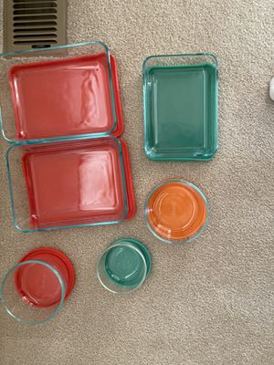 Pyrex glass ware for Sale in Westminster, CO