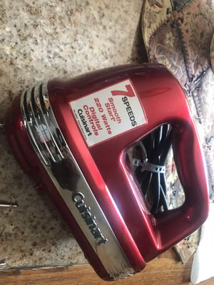 Cuisinart hand mixer new for Sale in Brookfield, IL