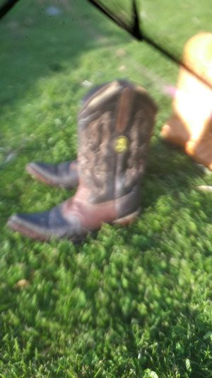 Leather cowboy boots size 8 for Sale in Westminster, CA