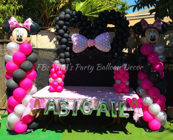 Minnie Mouse Party Balloon Decor For Sale In San Jose Ca Offerup