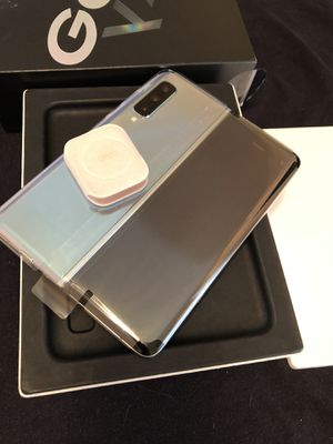 Samsung Galaxy Fold 512GB Space Silver Rare Most Expensive Dual Screen Premium High End Samsung Fold 👌 for Sale in Fremont, CA