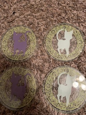 Sailor moon glass coasters for Sale in North Richland Hills, TX