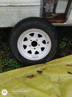 Spare trailer tire for Sale in Tupelo, MS