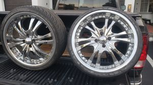 215 35 R18 Nankank tires with Panther rims for Sale in Sunrise, FL