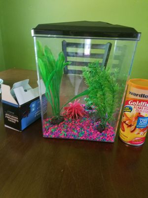 Fish tank All include for $70 for Sale in Jetersville, VA