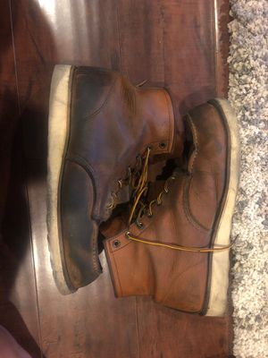 Red wing boots size 12 for Sale in South Gate, CA