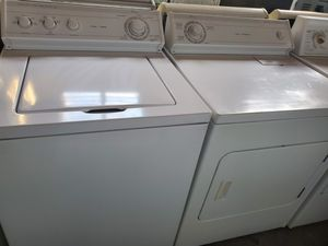 Washer and dryer set perfect condition for Sale in Miami Lakes, FL