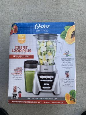 Oster Pro 1200 Plus Smart Blender for Sale in Chino Hills, CA