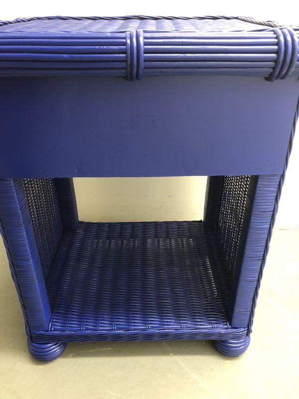 Wicker Furniture Side Table