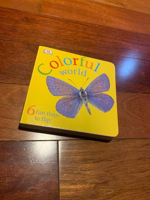 Colorful World Board Book for Sale in Coral Gables, FL