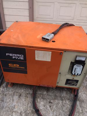 Forklift 48 volt 24 celll system battery charger for Sale in West Covina, CA
