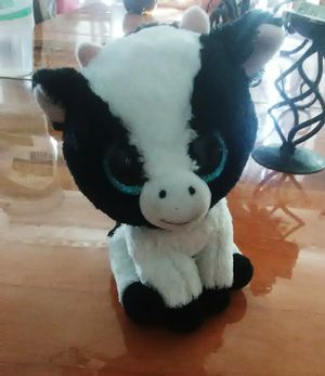 """Ty Beanie Boos 6"""" Butter the cow Plush Stuffed animal for Sale in Los Angeles, CA"""