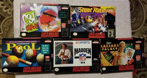Super Nintendo Games for Sale in Deltona, FL