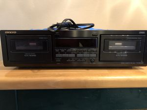 Onkyo Dual Cassette for Sale in San Diego, CA