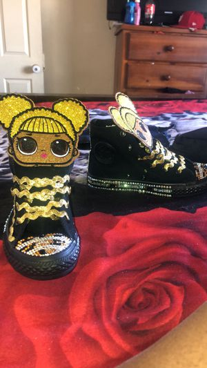 JASMINECORNER CUSTOM SHOES for Sale in Barstow, CA