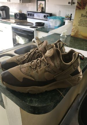 Nike Army fatigue Air huaraches size 13 for Sale in Alafaya, FL