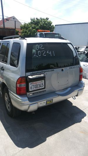 """PARTS FOR SALE..CHEVY TRACKER..""""2002""""ENGINE NO GOOD for Sale in Montebello, CA"""