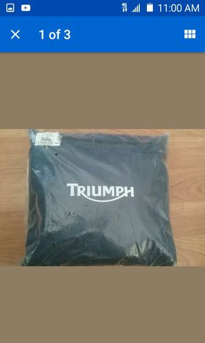 Triumph motorcycle cover for Sale in Las Vegas, NV