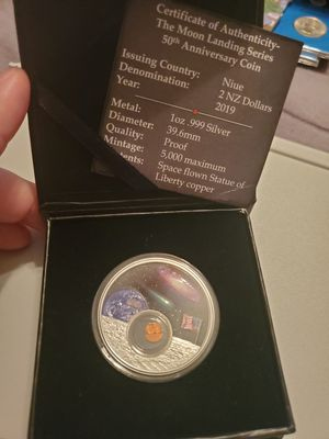 2019 Niue Silver 50th Moon Landing Anniversary Series: for Sale in Texas City, TX